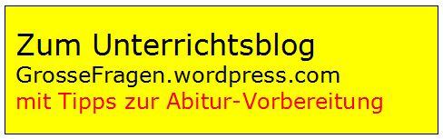 Blog zum Religionsunterricht von M. Veeser-Dombrowski.