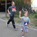 2009 zusammen mit meinem Sohn